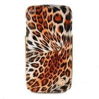 Чехол футляр-книга Rada для Samsung GT-I9500 Galaxy S IV леопард