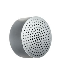 Портативная Bluetooth колонка Xiaomi Portable Round Box Speaker Silver Серебристая