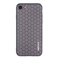Черный силиконовый чехол для iPhone 7 / 8 Remax рисунок соты