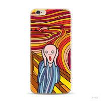 """Силиконовый чехол для iPhone 6 / iPhone 6s (4.7"""") с рисунком Крик"""