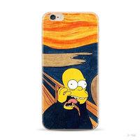 """Силиконовый чехол для iPhone 6 / iPhone 6s (4.7"""") с рисунком Крик - Гомер"""