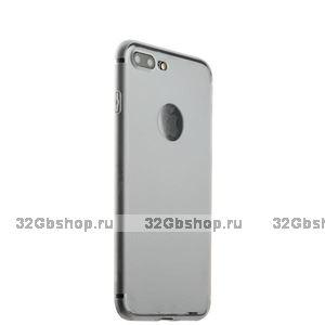 Матовый силиконовый чехол накладка на iPhone 7 Plus / 8 Plus