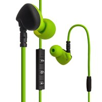 Зеленые беспроводные наушники с микрофоном для iPhone 7 / 7 Plus - Hoco ES1 In-ear Sport Wireless Headset Bluetooth 4.1 Green