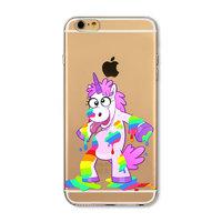 Пластиковый чехол накладка для iPhone 7 / 8 рисунок Единорог