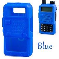 Силиконовый Обложка - Чехол для рации Baofeng  BF-UV5R 5RA 5RB 5RC 5RD TYT THF8 Голубой
