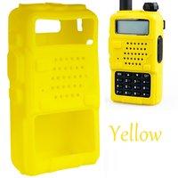 Силиконовый Обложка - Чехол для рации Baofeng BF-UV5R 5RA 5RB 5RC 5RD TYT THF8 Желтый