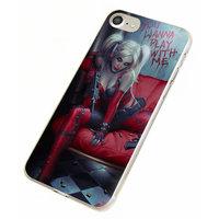 Пластиковый чехол для iPhone 7 / 8 рисунок Отряд самоубийц - Харли Квинн