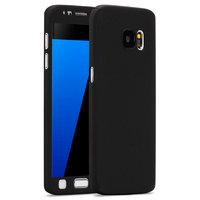 Двухсторонний пластиковый чехол 360 для Samsung Galaxy S7 черный