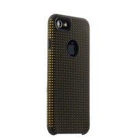 Силиконовый противоударный чехол для iPhone 7 / 8 черный c оранжевыми точками COTEetCI Vogue Silicone Case