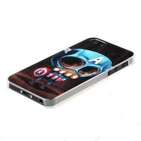 Чехол накладка Anzo для iPhone 5 / 5s / SE 3D Captain