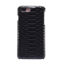 Чехол из змеиной кожи для iPhone 7 Plus / 8 Plus черный питон