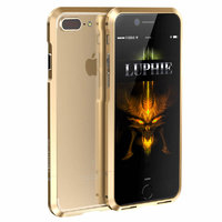 Золотой алюминиевый бампер на iPhone 7 Plus / 8 Plus - Luphie Rapier Series Aluminium Bumper Gold