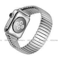 Стальной растягивающийся ремешок - браслет для Apple Watch 38mm