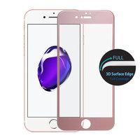 """Защитное 3D стекло для iPhone 7 / 8 (4.7"""") с рамкой розовое золото - 3D Curved Full Coverage Tempered Glass Rose Gold"""