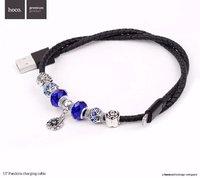 Кабель - браслет HOCO Pandora Lighting - USB для iPhone 5 / 5s / 5c / SE, iPhone 6s / 6, iPhone 7 / 7 Plus, iPad mini / iPad air