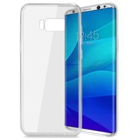 Прозрачный силиконовый чехол для Samsung Galaxy S8