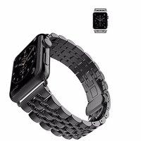 Черный металлический ремешок для Apple Watch 42мм
