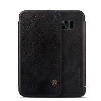 Черный кожаный чехол книга для Samsung Galaxy S8 Plus - G-Case Leather Book Case Black