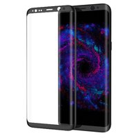 Защитное 3D стекло для Samsung Galaxy S8 Plus (S8+) с черной рамкой