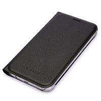 Черный чехол книга для Samsung Galaxy S8 Plus - Wallet Card Book Case Black