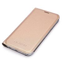 Золотой чехол книжка Wallet Card Book Case Gold для Samsung Galaxy S8