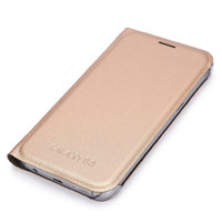 Золотистый чехол книга Wallet Card Book Case Gold для Samsung Galaxy S8 Plus (S8+)