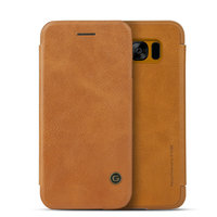 Коричневый чехол книга G-Case для Samsung Galaxy S8 - G-Case Slim Flip Leather Wallet Card Brown