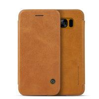 Коричневый чехол книга G-Case для Samsung Galaxy S8 - G-Case Slim Flip Leather Wallet Card Brown