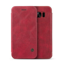 Красный чехол книга G-Case для Samsung Galaxy S8 - G-Case Slim Flip Leather Wallet Card Red