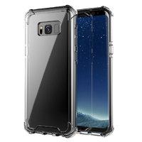 Прозрачный силиконовый чехол для Samsung Galaxy S8+ Plus усиленые углы