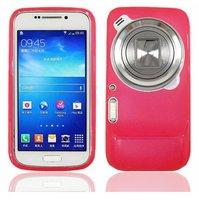 Розовый силиконовый чехол для Samsung Galaxy S4 Zoom