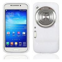 Белый силиконовый чехол для Samsung Galaxy S4 Zoom