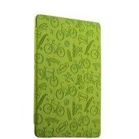 Зеленый чехол-книжка подставка Deppa Wallet Onzo для Apple iPad 2017 с тиснением