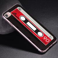 Силиконовый чехол для iPhone 7 / 8 - рисунок Кассета