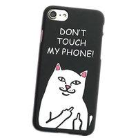 Пластиковый чехол накладка для iPhone 7 / 8 с рисунком DONT TOUCH MY PHONE