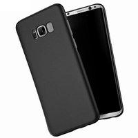 Черный тонкий чехол для Samsung Galaxy S8 с покрытием Soft Touch