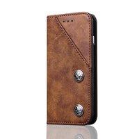Коричневый кожаный чехол книжка - подставка Book Case для Samsung Galaxy S8 Plus (S8+)