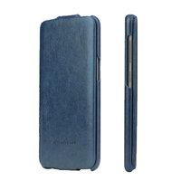 Синий кожаный чехол флип Fashion Case для Samsung Galaxy S8