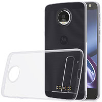 Прозрачный силиконовый чехол для Motorola Moto Z Play 5.5