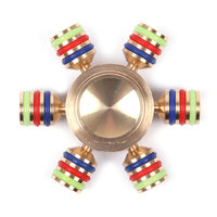 Spinner для рук Спиннер металический - улучшенные подшипники и быстрая скорость вращения
