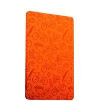 Оренжевый чехол книга Deppa Wallet Onzo Orange для iPad Pro 10.5 с рисунком