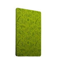 Зеленый чехол книжка Deppa Wallet Onzo Green для iPad Pro 10.5 с рисунком