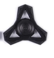 Игрушка-антистресс Spinner металлический черный Спиннер ТАНТО улучшенные подшипники и быстрая скорость вращения