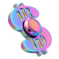 Игрушка-антистресс Спиннер Доллар металлический Хамелеон Metallic Chameleon Dollar Spinner