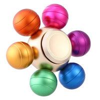 Игрушка-антистресс Спиннер металлический цветные шарики  Очень тихий - быстрая скорость вращения