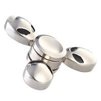 Металлический серебристый Спиннер Мetallic Spinner Гуманоид - Пришелец