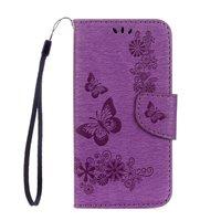 Фиолетовый чехол книжка - подставка Book Case для Samsung Galaxy S8