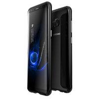 Черный алюминиевый бампер для Samsung Galaxy S8+ Plus