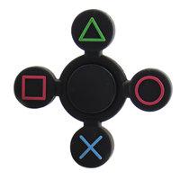 Черный силиконовый Спиннер - Spinner Black кнопки PSP
