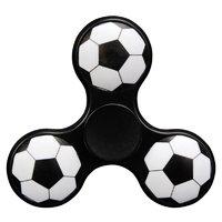 Черный Спиннер болельщика футбольный мяч - Spinner Football Black